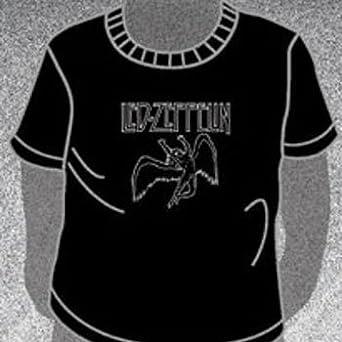 d724437a9 Led Zeppelin - Swan Logo Toddler Tee Babywear In Black, Size: 4T, Color:  Black: Amazon.co.uk: Clothing