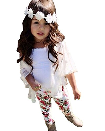 Baby Lovely Wihte Floral Outfit product image