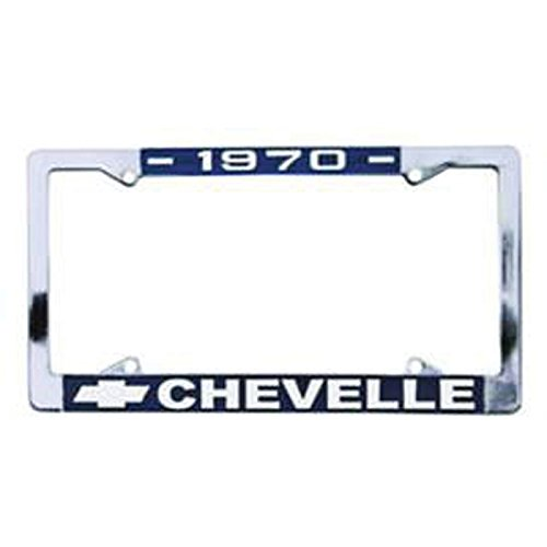 Eckler's Premier Quality Products 50-212001 Chevelle License Plate Frames,