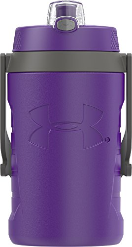 - Under Armour Sideline 64 Ounce Water Jug, Purple