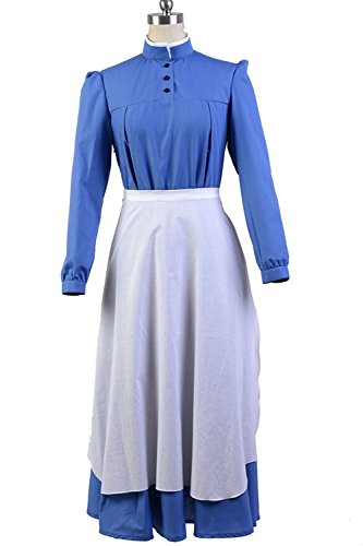 Howl's Moving Castle Sophie Cosplay Dress Costume Outfit (Howl's Moving Castle Sophie Cosplay Costume)