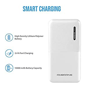 Best Ambrane 10000mAh Lithium Polymer Power Bank Under Rs.500 India [2020]