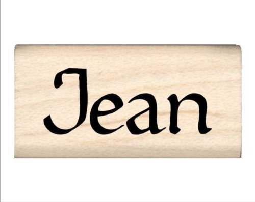 Stamps by Impression Jean Name Rubber ()