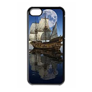 DIYYuli(RM) Unique Design Custom Offshore Sailing Hard Back Cover Case for Iphone 5C - KkUi695593