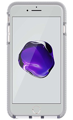 Tech21 EVO GO SERIES Leather Trim Case for iPhone 8 Plus / 7 Plus - White/Beige - New