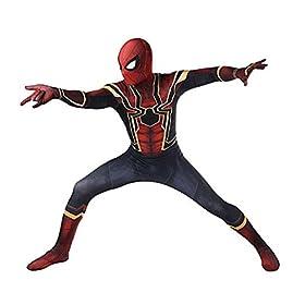 - 41zrWzicX9L - HBMaida Unisex Lycra Spandex Zentai Halloween Cosplay Costumes Adult/Kids 3D Style