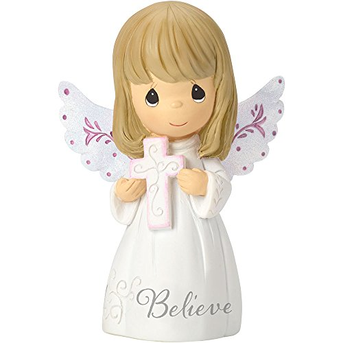- Precious Moments 162406 Believe, Resin Mini Figurine