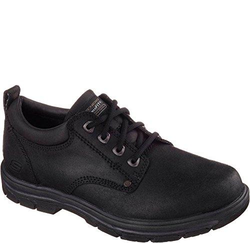 Skechers Heren Relaxed Fit Segment Veloso Lace Up Zwart