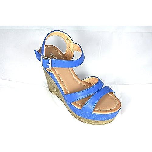 Sandales Compensées Oranges hautes 38 Taille MOOW SHzPwqw