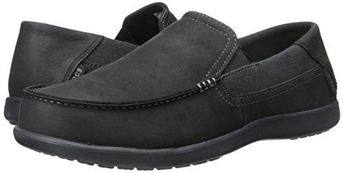 Pictures of Crocs Men's Santa Cruz 2 Luxe Leather Loafer D(M) US 4
