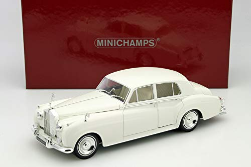 Minichamps 100134900 1:18 1960 Rolls Royce Silver Cloud - White -