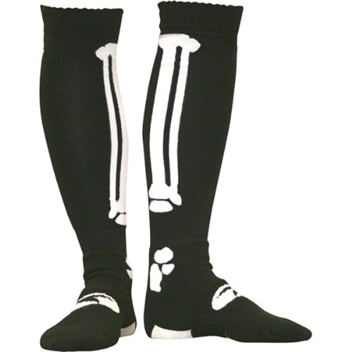 AXO MX Socks (Bonez black, One (Axo Mx Socks)
