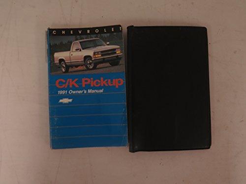 (1991 Chevrolet C/K Pickup Truck Owner's Manual Original)