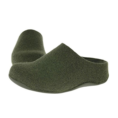 Shuv Felt Nuovo Scarpe D Pantofole Verde Fitflop 05dpq5