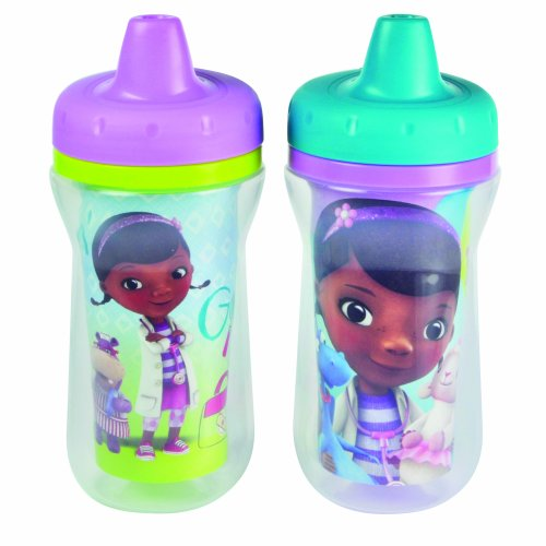 The First Years Disney Doc Mc Stuffins Insulated Sippy Cup, 9 Ounce (Color and design may vary) -