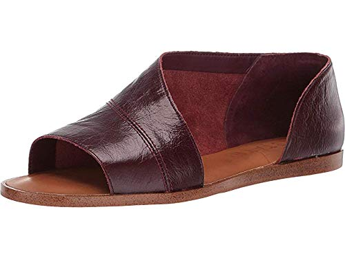 1.STATE Women's Celvin Wine New Forest Distressed 7 M US (Best States For Wine)