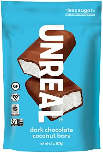 Chocolate Candies: UNREAL Dark Chocolate Coconut Bars