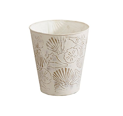 Park Designs Shells Waste Basket (Wastebasket Seashell)