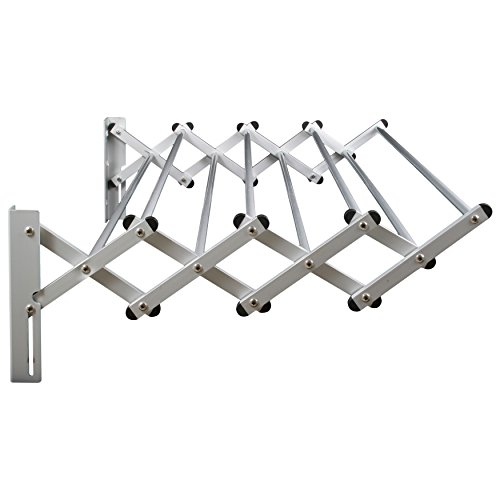 Greenway Indoor/Outdoor Foldable Drying Rack with Optional Wall Mount