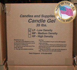 Pack of 1, Penreco Hp Candle Gel 35 Lb. Bucket, Made In USA Great for Gel Fragrance Squares