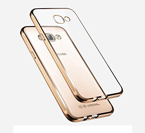 Premsons Samsung Galaxy A7 Electroplating Gold Tpu Case
