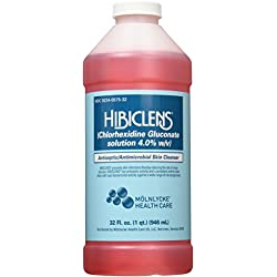 Hibiclens Antiseptic/Antimicrobial Skin Liquid Soap, 32 Fluid Ounce