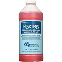Hibiclens Antimicrobial/Antiseptic Skin Cleanser, 32 Fluid Ounce Bottle, for Antimicrobial Skin Cleansing