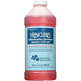Hibiclens Antimicrobial/Antiseptic Skin Cleanser 32 Fluid Ounce Bottle for Antimicrobial Skin Cleansing