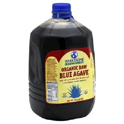Wholesome Sweeteners Organic Raw Blue Agave, 1 Gallon -- 2 per case.