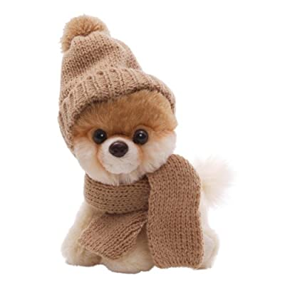 Gund 5 Itty Bitty Boo In Knit Scarf And Cap Plush from Gund