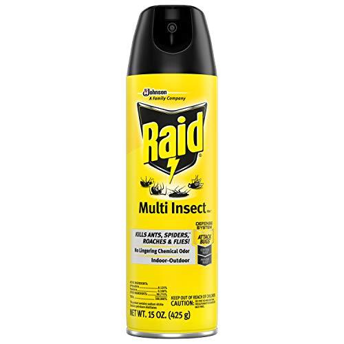 - Raid Multi Insect Killer, 15 OZ (Pack - 2)