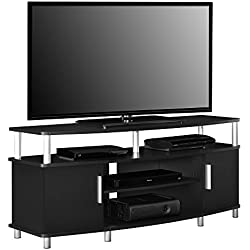 "Ameriwood Home Carson TV Stand for TVs up to 50"", Black"