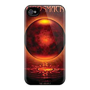 Iphone 4/4s Cqb15197infc Support Personal Customs Lifelike Godsmack Skin Perfect Cell-phone Hard Covers -AlissaDubois