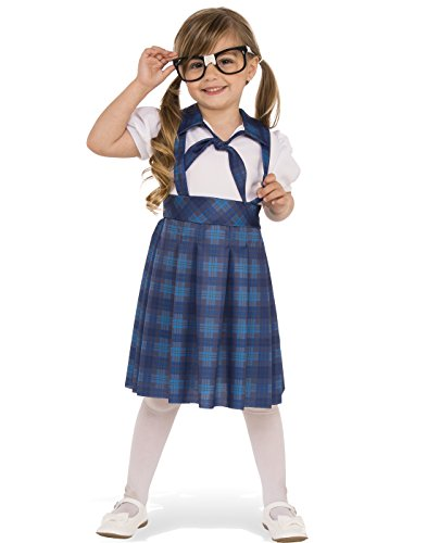 Rubies Costume Child's Nerd Girl Costume, Small, (Boys Nerd Costume)