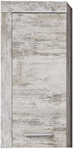 Maisonnerie 1259-503-68 Placard Murale de Salle de Bain Blanc LxHxP 36 x 79  x 23 cm