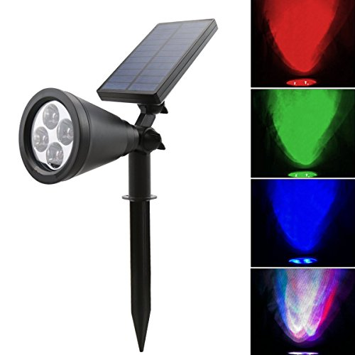 10 Colour Change Solar Lights in US - 8