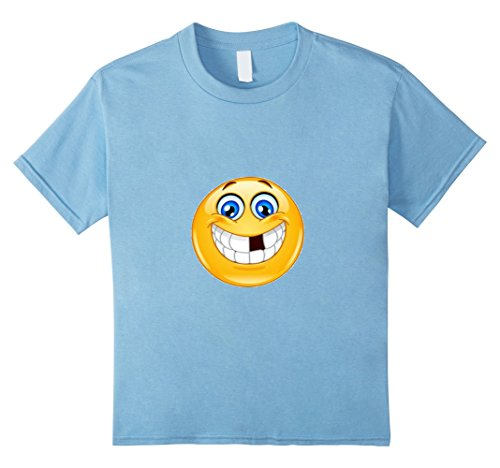 Kids Missing Tooth Emoticon t-shirt Tooth Fairy Lost Tooth 4