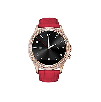 D2 Smart Watch - NO.1 Elegante Redondo Inteligente Cristal Diamante Reloj Diseno por Mujeres