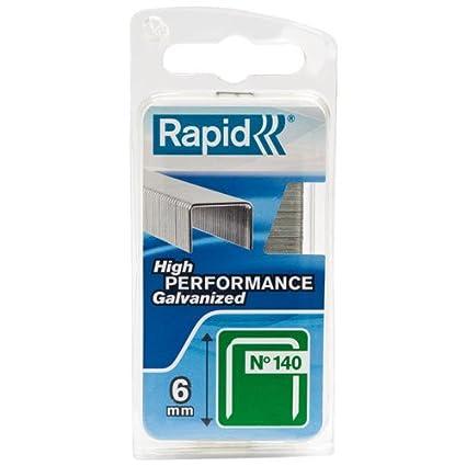 Rapid 11915631 PRO 140 - Grapas para grapadora neumá tica (14 mm, galvanizadas, 2000 unidades)