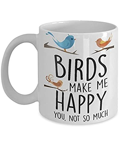 Birds make me happy you, not so much (Iphone 5 Cases Spike)