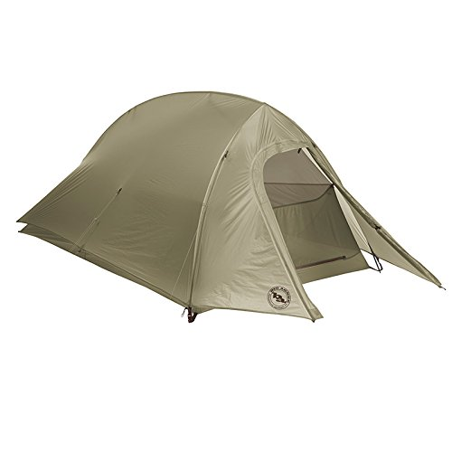 Big Agnes Fly Creek UL Backpacking Tent (olive green, 1 Person)
