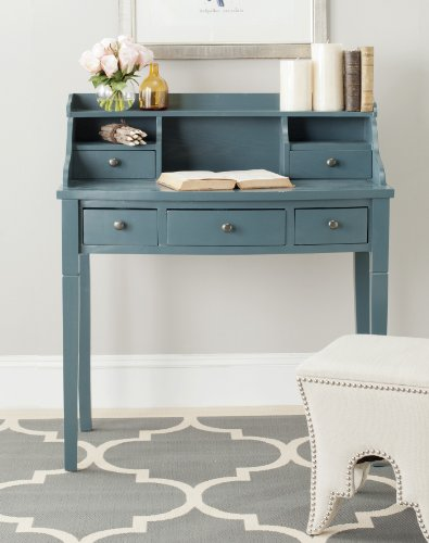 Safavieh American Homes Collection Landon Slate Teal Writing Desk