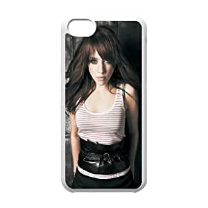 Celebrities Alexz Johnson iPhone 5c Cell Phone Case White DIY GIFT pp001_8995372