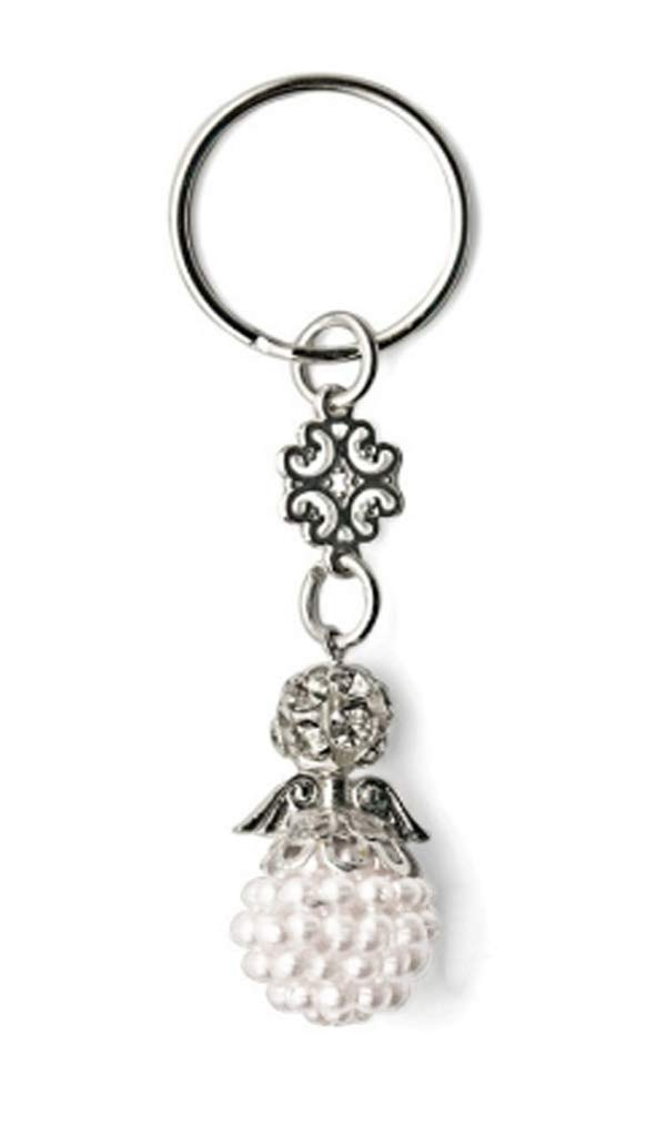 Amazon.com: White Angel Keychain Party Favors Baptism ...