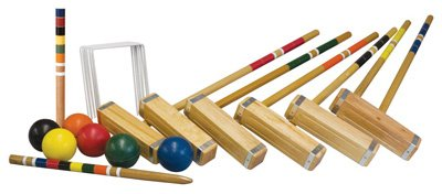 Franklin 50202 6 Player Advanced Croquet Set
