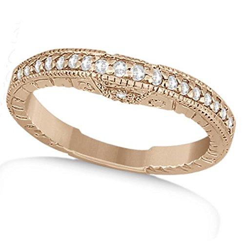 Diamond 14k Gold Estate Ring - 9