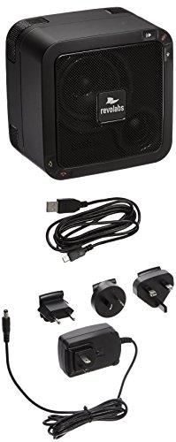 Revolabs FLX UC 500 Speaker for Phones - Retail Packaging - Black