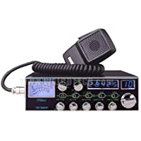 10 METER RADIO 100W BLUE LEDS 4 MOSFETS