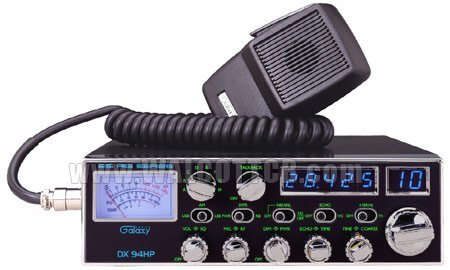 Buy galaxy 10 meter radio 100w blue leds 4 mosfets