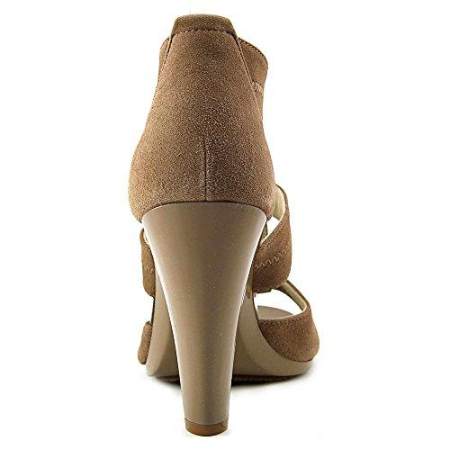 Kors T Womens Sandal Berkley Michael Michael Dune Dark Strap FH5qwzIxw